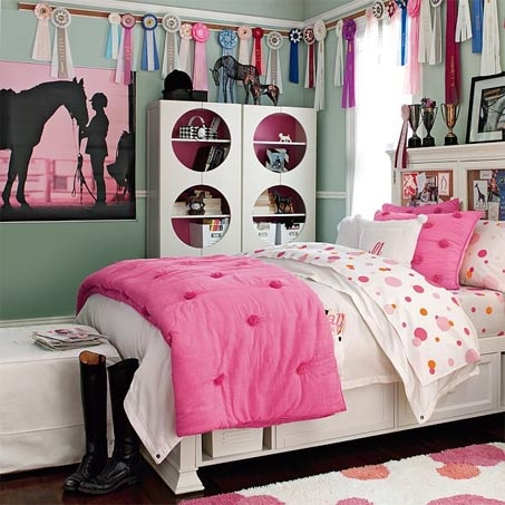 easy horse themed bedroom ideas for horse crazy kids