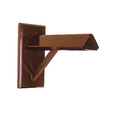 Solid Wood Wall Mount Saddle Rack Single