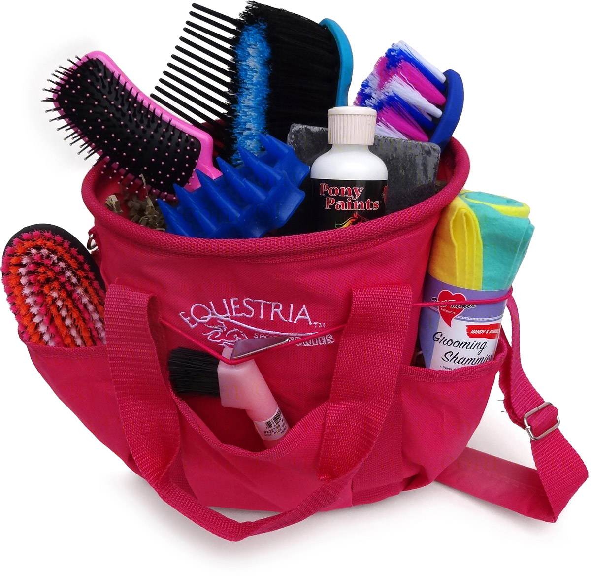 Large Horse Grooming Gift Kit With Tote