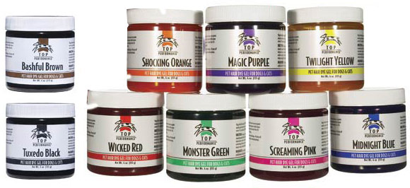 Safe Dye for Manes, Tails, and Body
